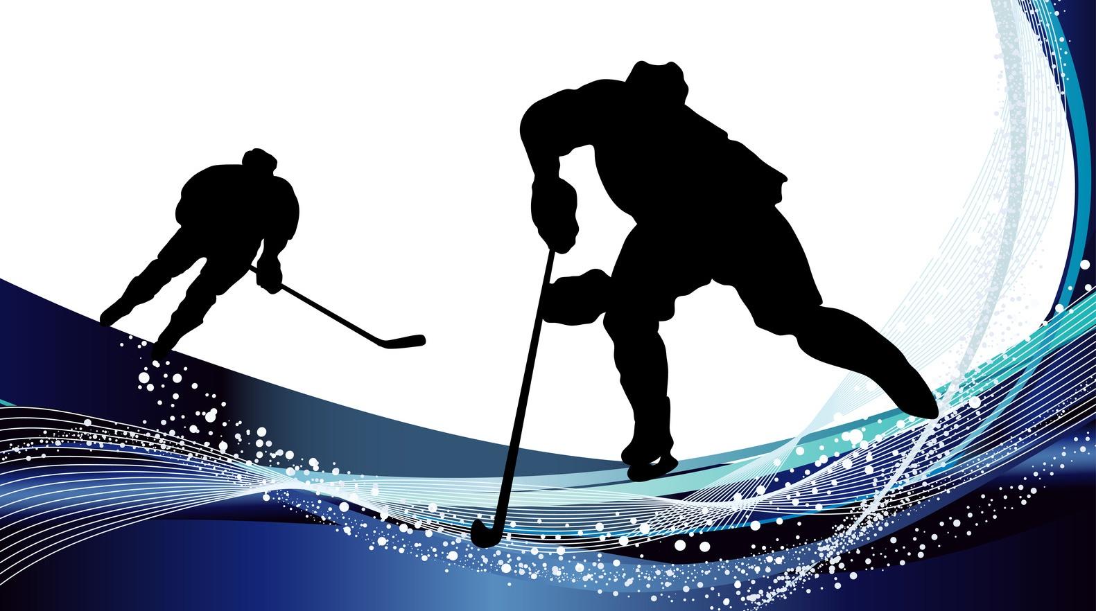 Хоккей в картинках на прозрачном фоне, доброго вечера